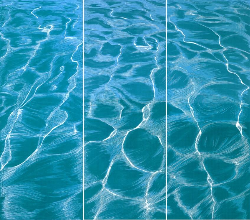 «Aegean Sea Odes»,  triptych